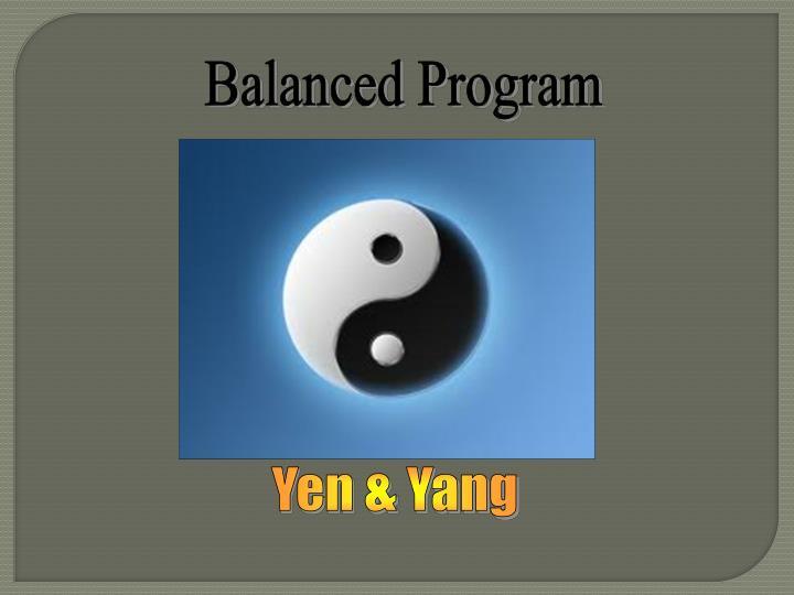 Balanced Program