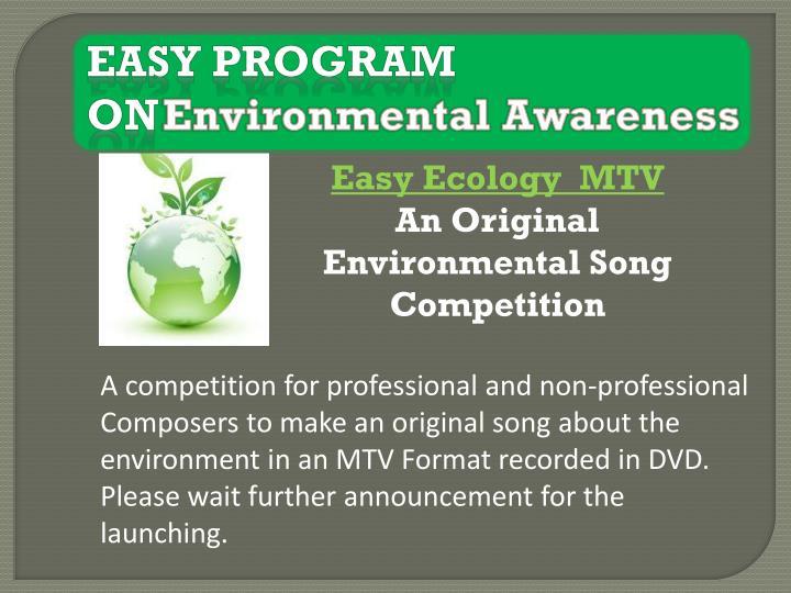 Easy program