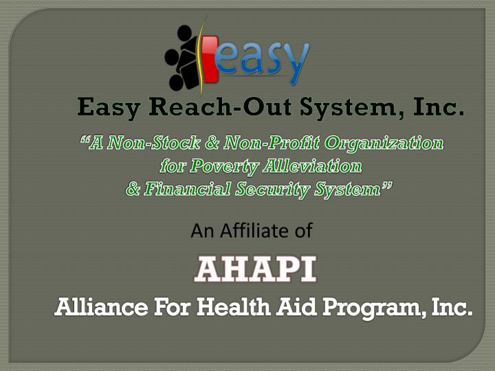 Easy Reach-Out System, Inc.