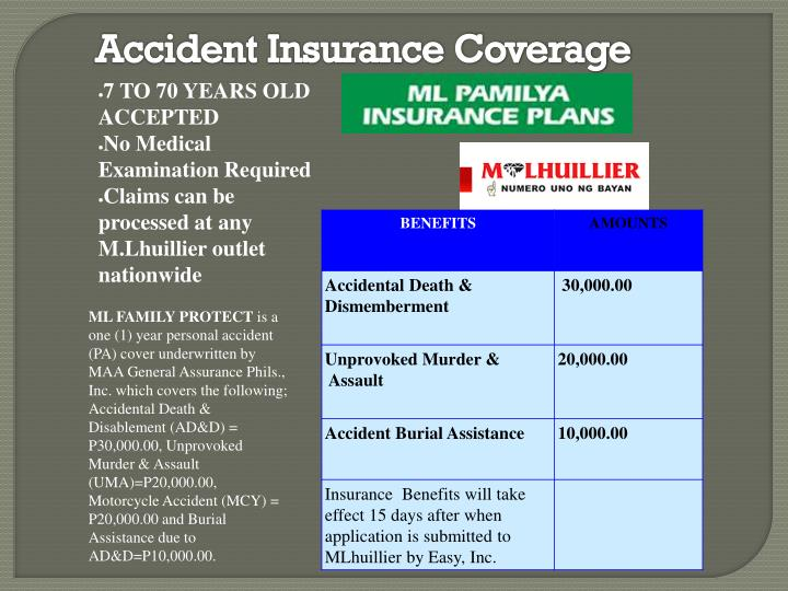 Accident Insurance Coverage