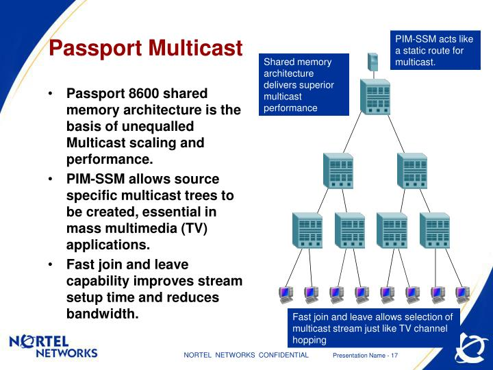 PIM-SSM acts like a static route for multicast.