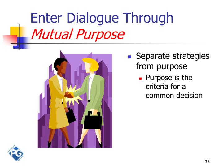 Enter Dialogue Through