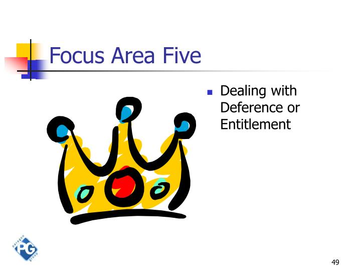 Focus Area Five