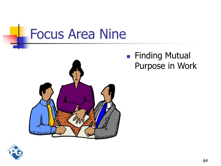 Focus Area Nine