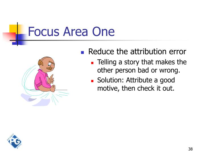 Focus Area One
