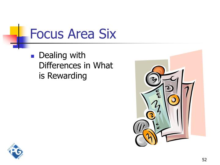 Focus Area Six