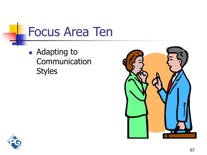 Focus Area Ten