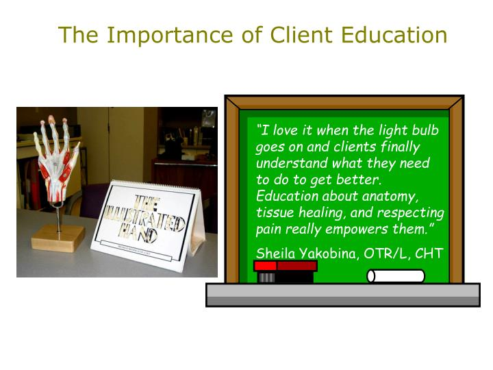 The Importance of Client Education