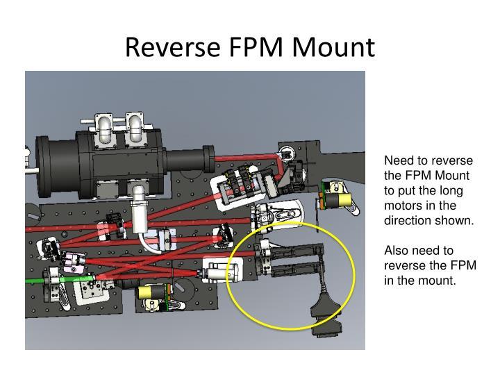 Reverse FPM Mount