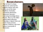 buryat shamans