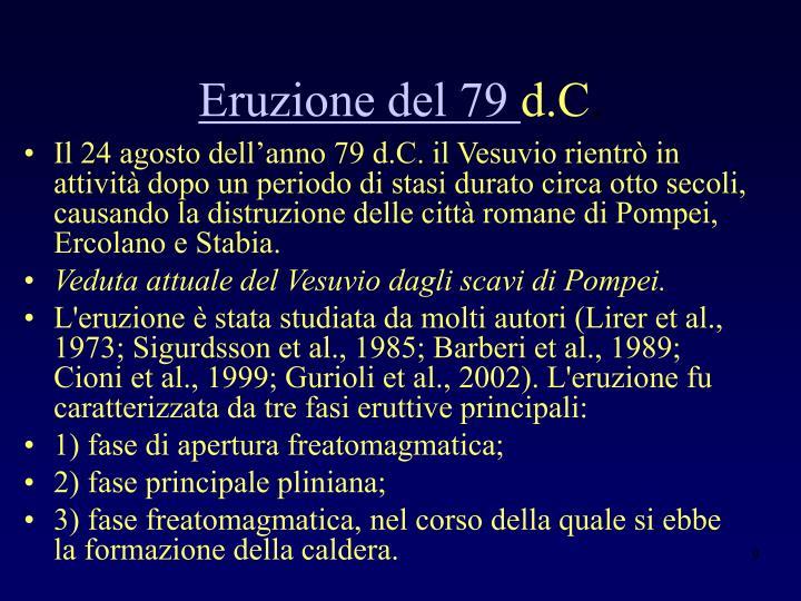 Eruzione del 79