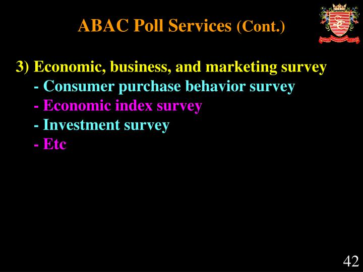 ABAC Poll Services