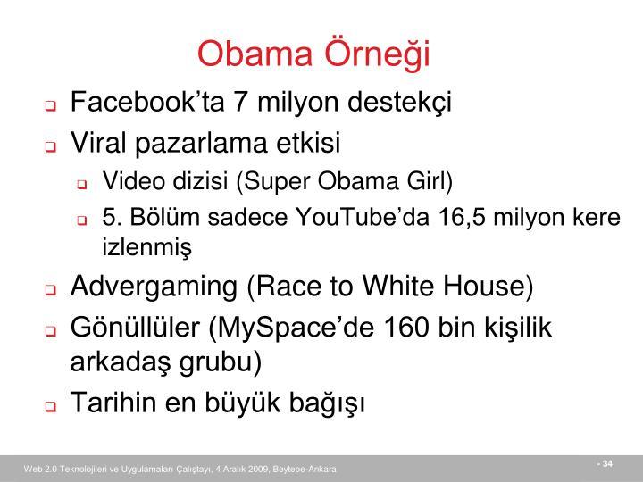 Obama Örneği