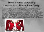 environmental storytelling lessons from theme park design1