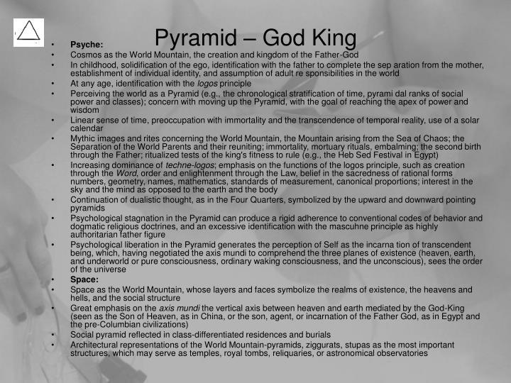Pyramid – God King