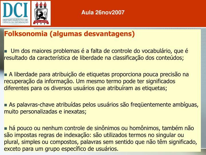 Aula 26nov2007