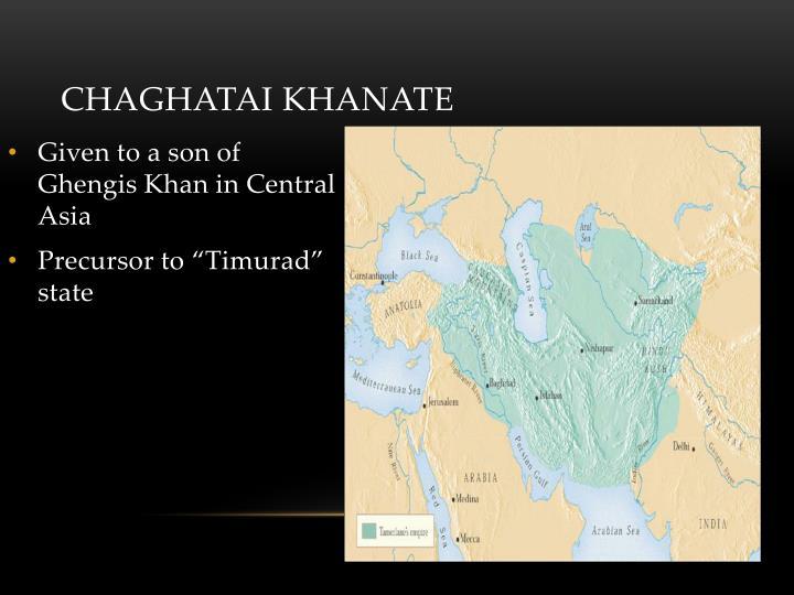 Chaghatai Khanate
