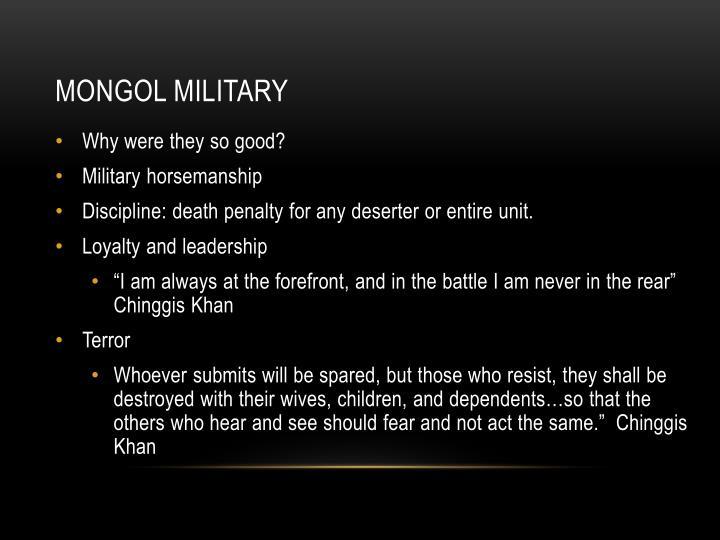 Mongol Military