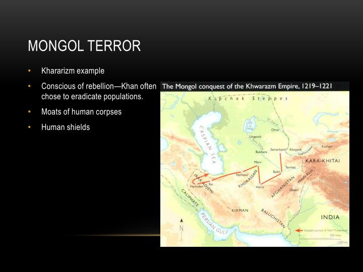 Mongol terror