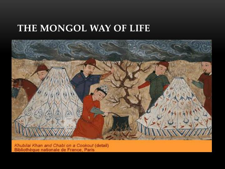 The Mongol Way of Life