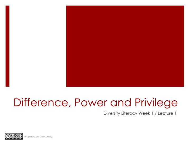 crash and privilege power and difference 11 quotes from privilege, power, and difference: 'it is more likely that the paths others have chosen influence the paths i choose this suggests that th.