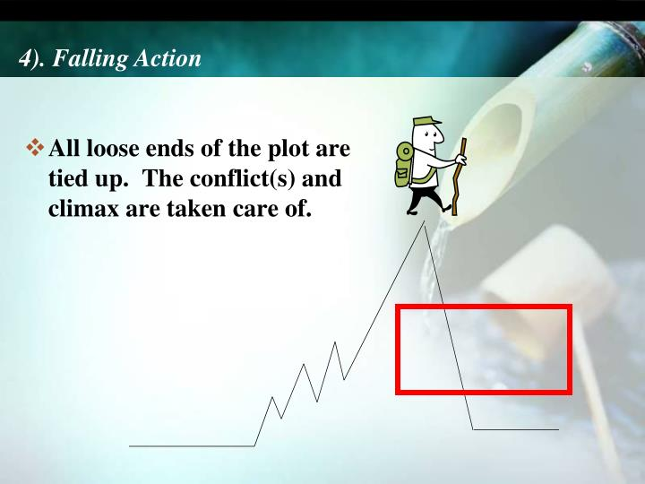 4). Falling Action