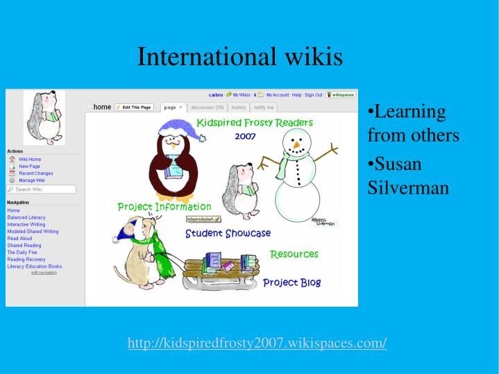 International wikis