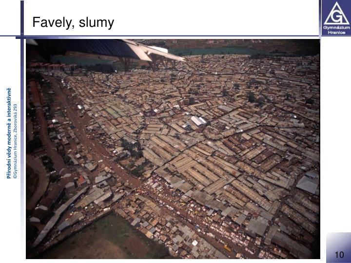 Favely, slumy