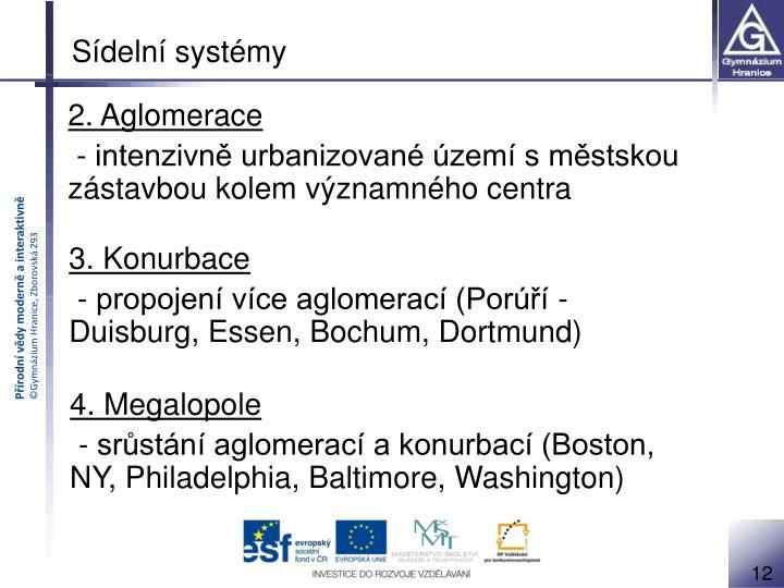 Sídelní systémy