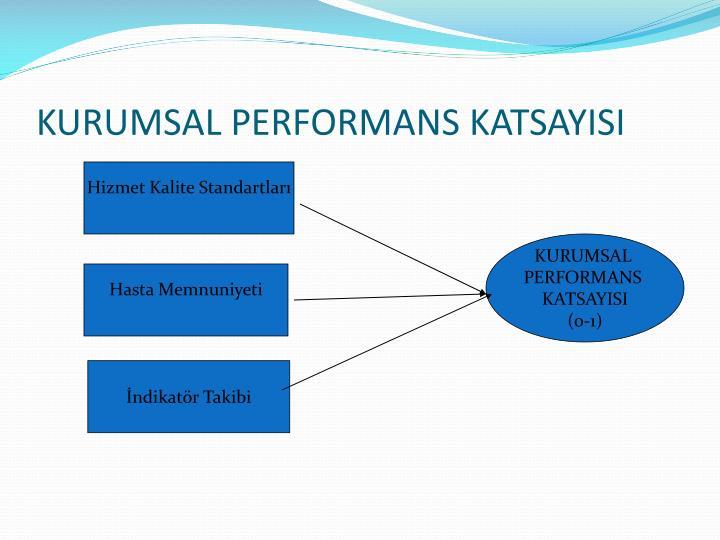 KURUMSAL PERFORMANS KATSAYISI