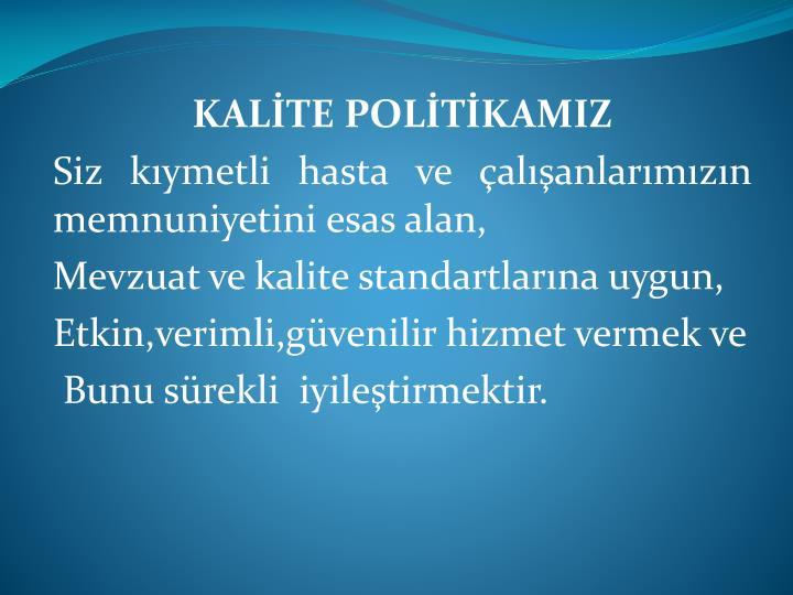 KALTE POLTKAMIZ
