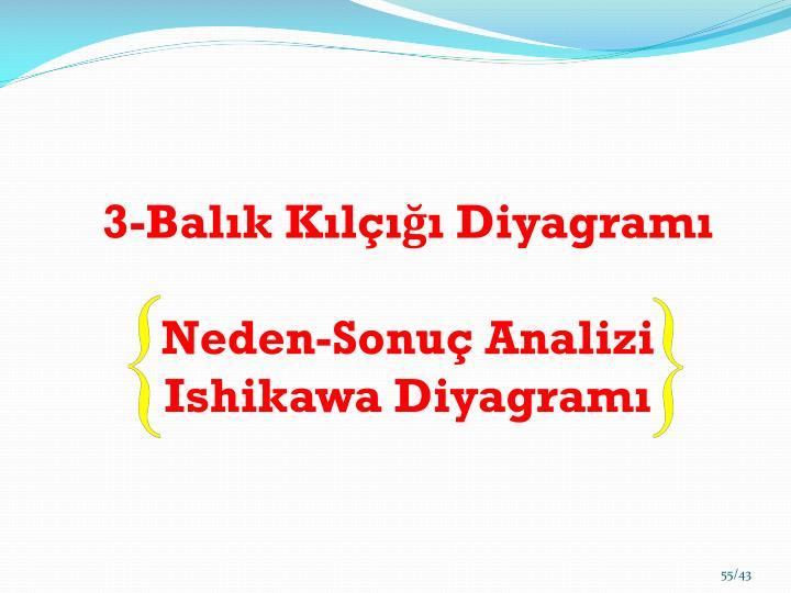 3-Balık Kılçığı Diyagramı