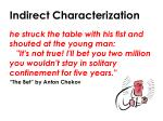 indirect characterization1