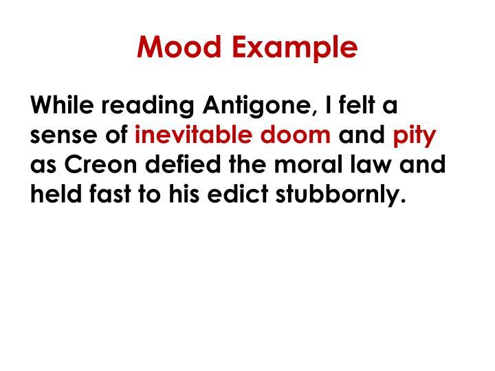 Mood Example