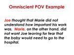 omniscient pov example1