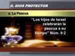 ii dios protector