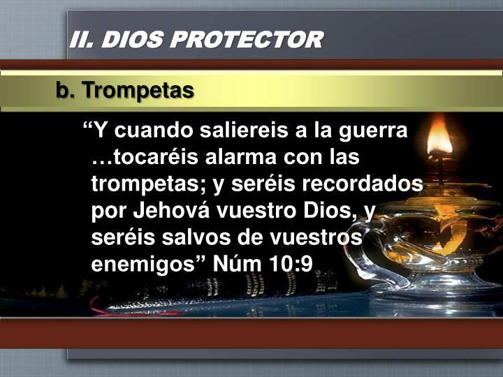 II. DIOS PROTECTOR