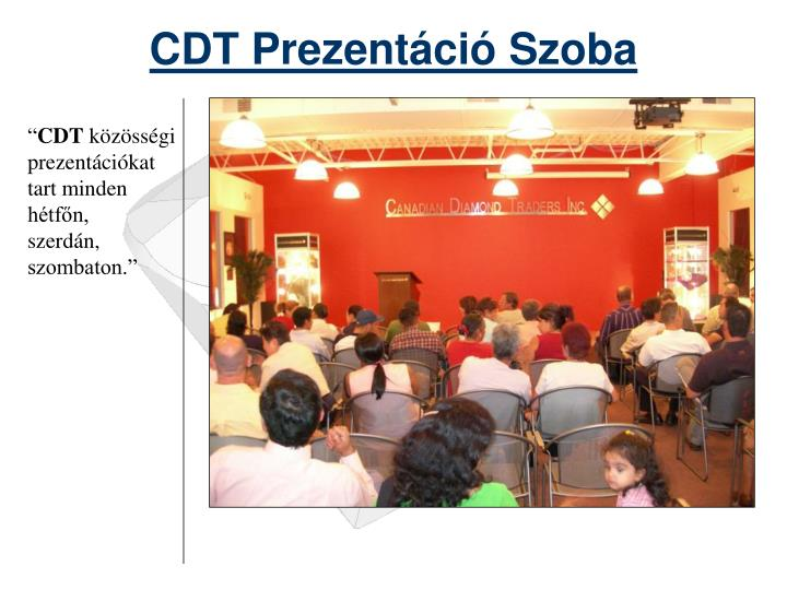 CDT Pre