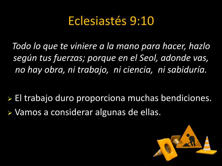 Eclesiastés 9:10