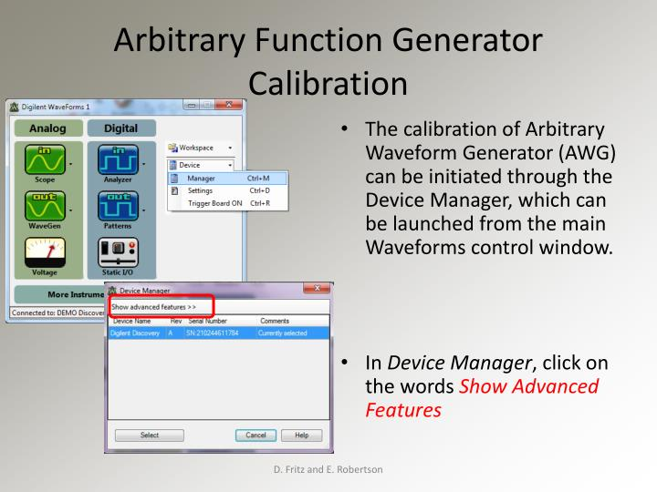 Arbitrary Function Generator