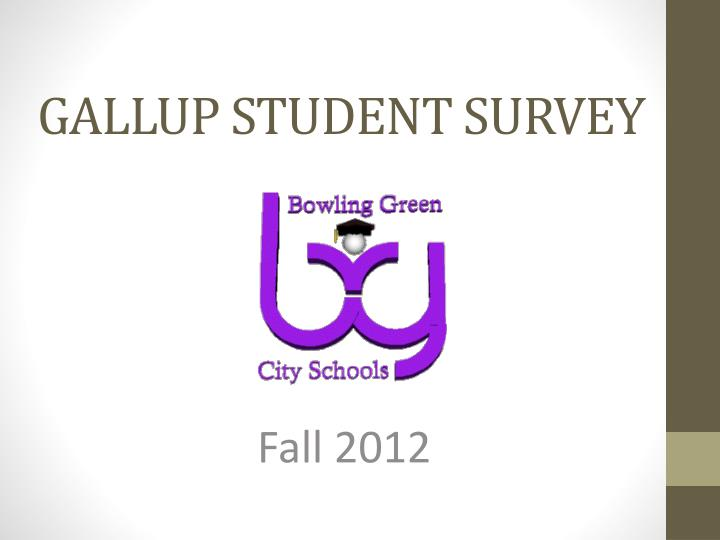 Gallup student survey