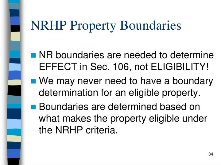 NRHP Property Boundaries