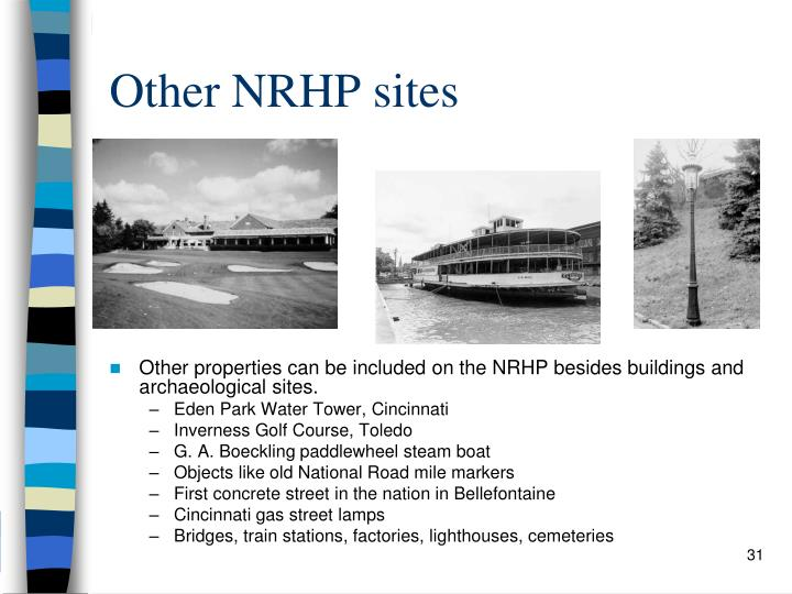 Other NRHP sites