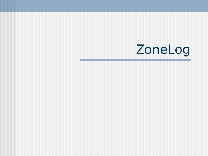 ZoneLog