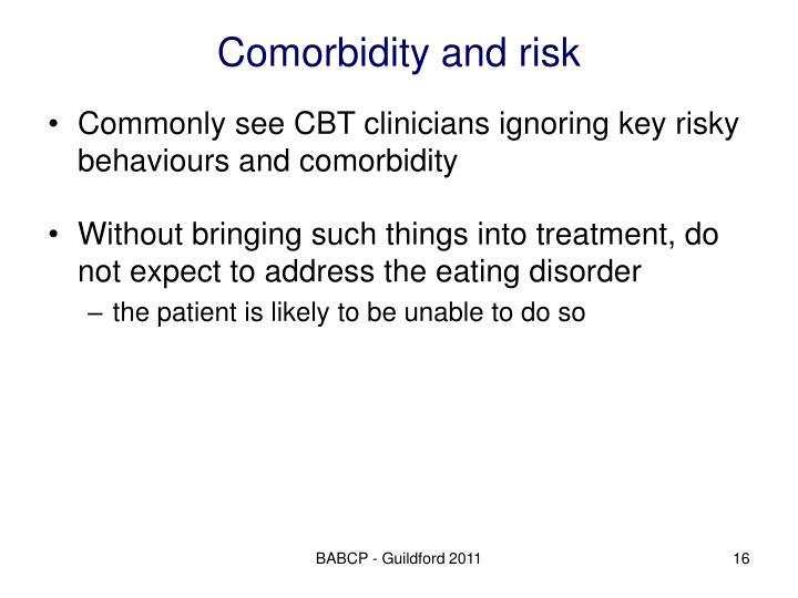 Comorbidity and risk