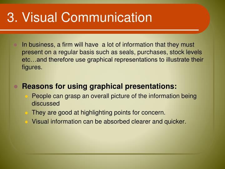 3. Visual Communication