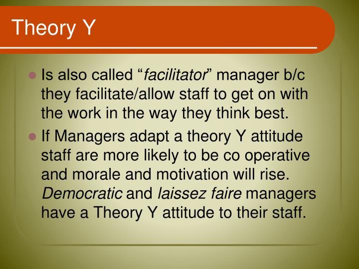 Theory Y