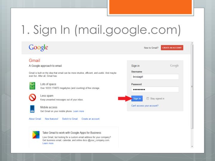 1 sign in mail google com