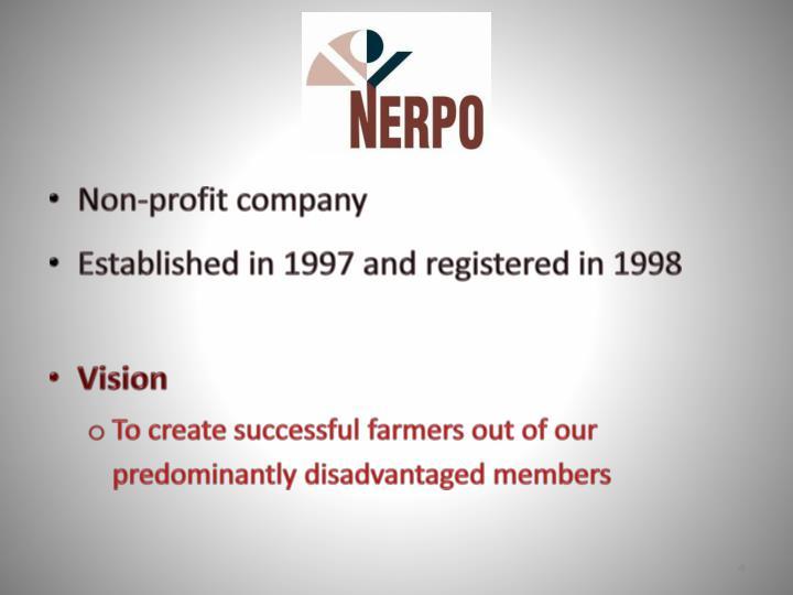 Non-profit company