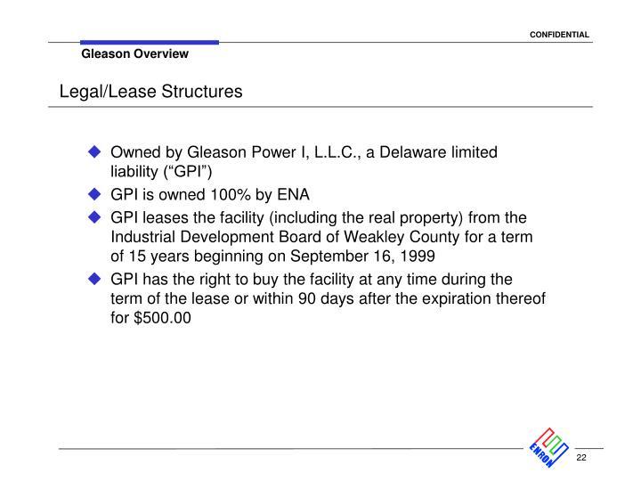 Gleason Overview